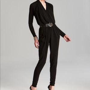 Michael Kors Black longsleeve jumpsuit XS